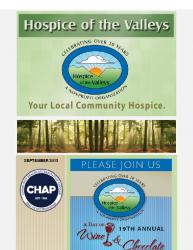 Hospice of the Valleys – September Newsletter 2015