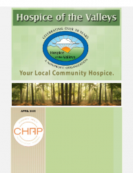 Hospice of the Valleys – April Newsletter 2015